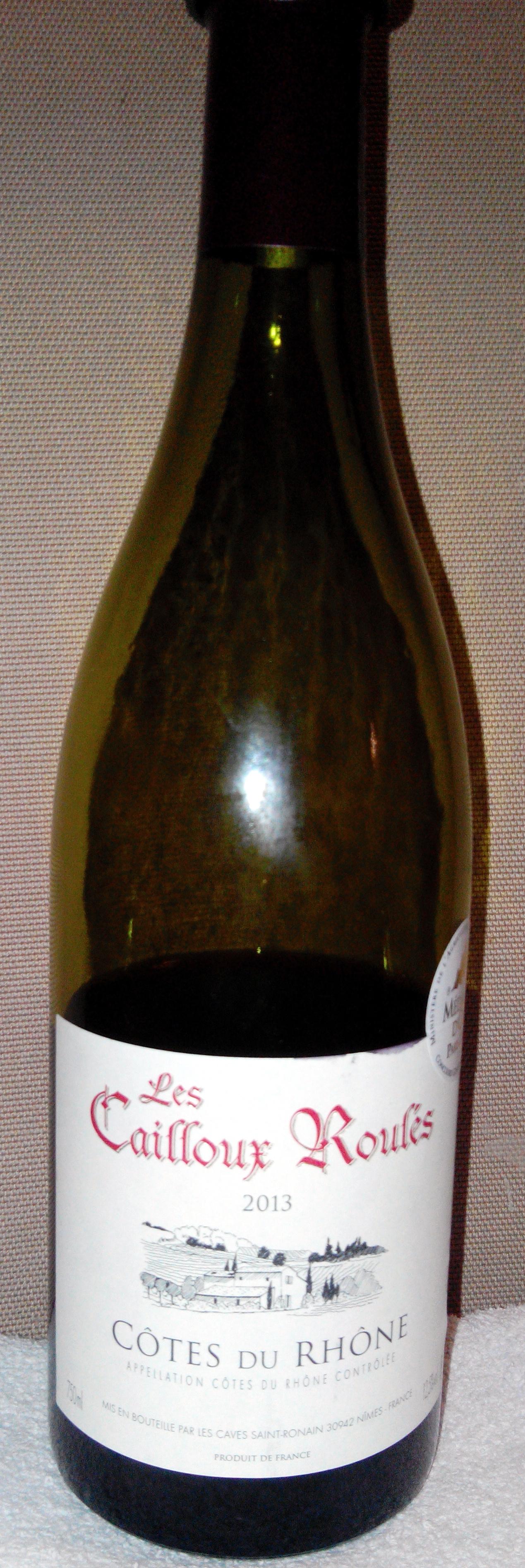 Côtes du Rhône, les cailloux roulés - Product - fr