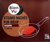 Steaks hachés pur boeuf - Product