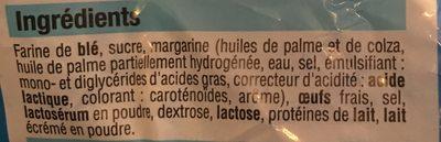 12 Crepes nature BIEN VU - Ingrediënten