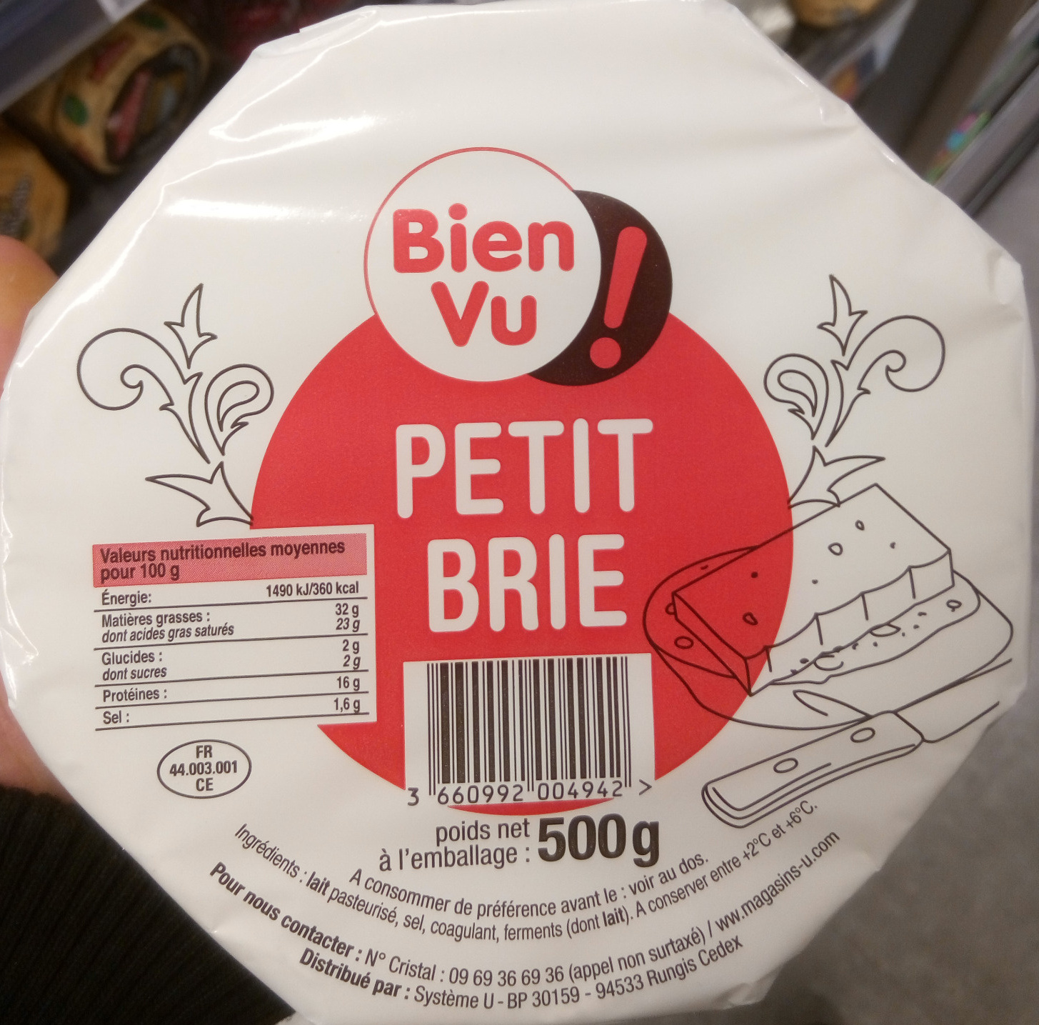 Petit Brie (32 % MG) - Produit