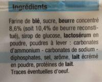 Petit Beurre (lot de 2 paquets) - Ingrediënten
