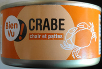 Crabe, chair et pattes - Produit