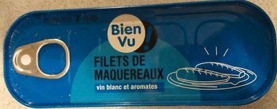 Filets de maquereaux vin blanc et aromates - Product