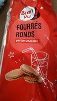 Fourrés rond parfum chocolat - Produit - fr