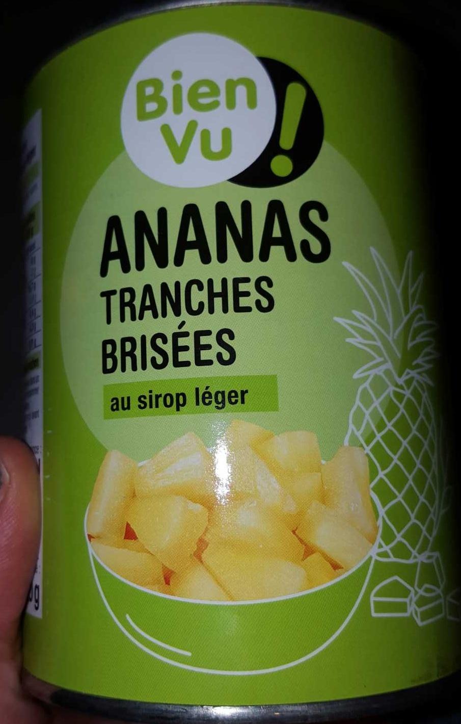 Ananas tranches brisées - Produit - fr