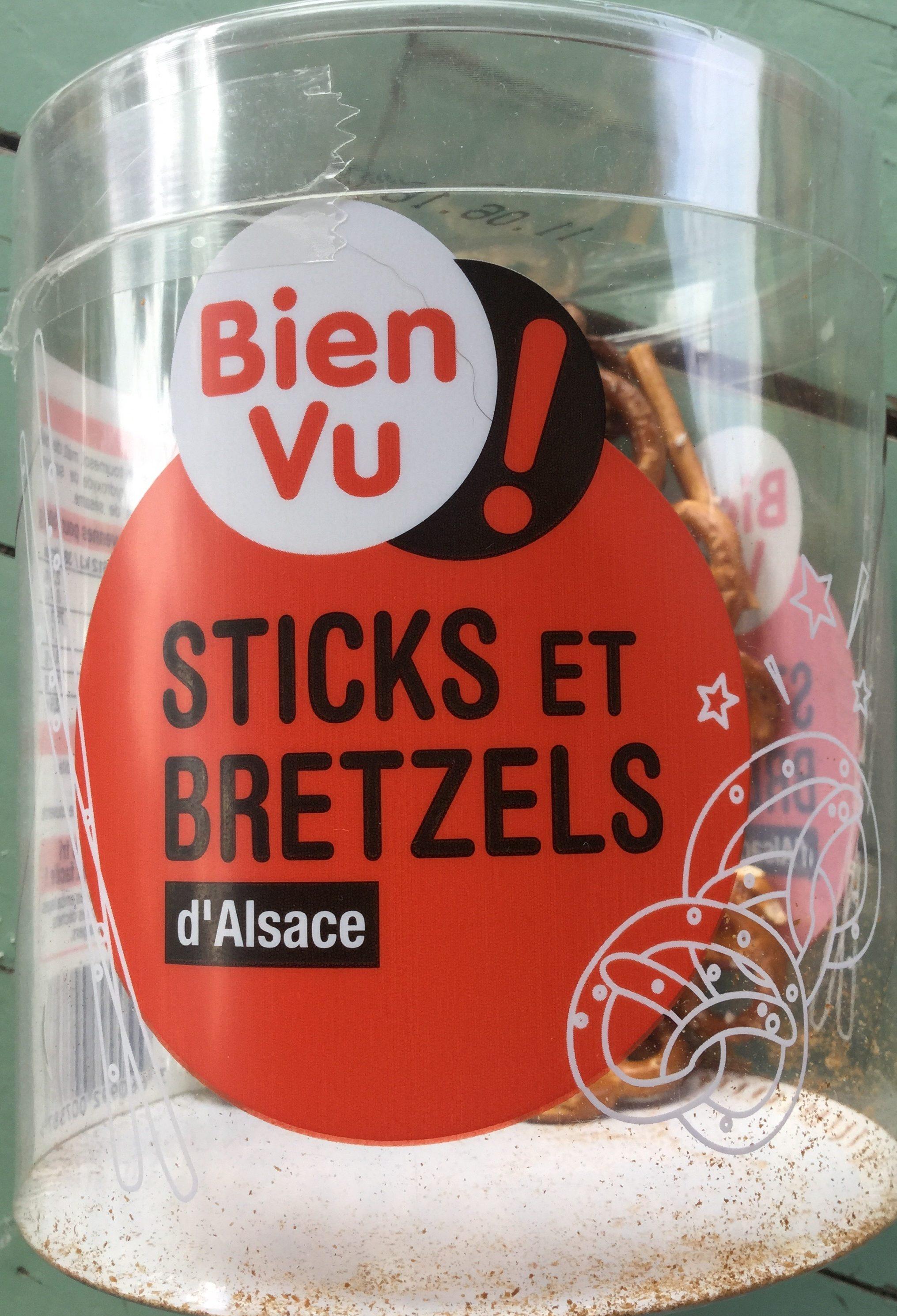 Sticks et bretzels d'Alsace - Produit - fr