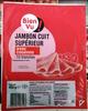 Jambon cuit supérieur avec couenne - Produit