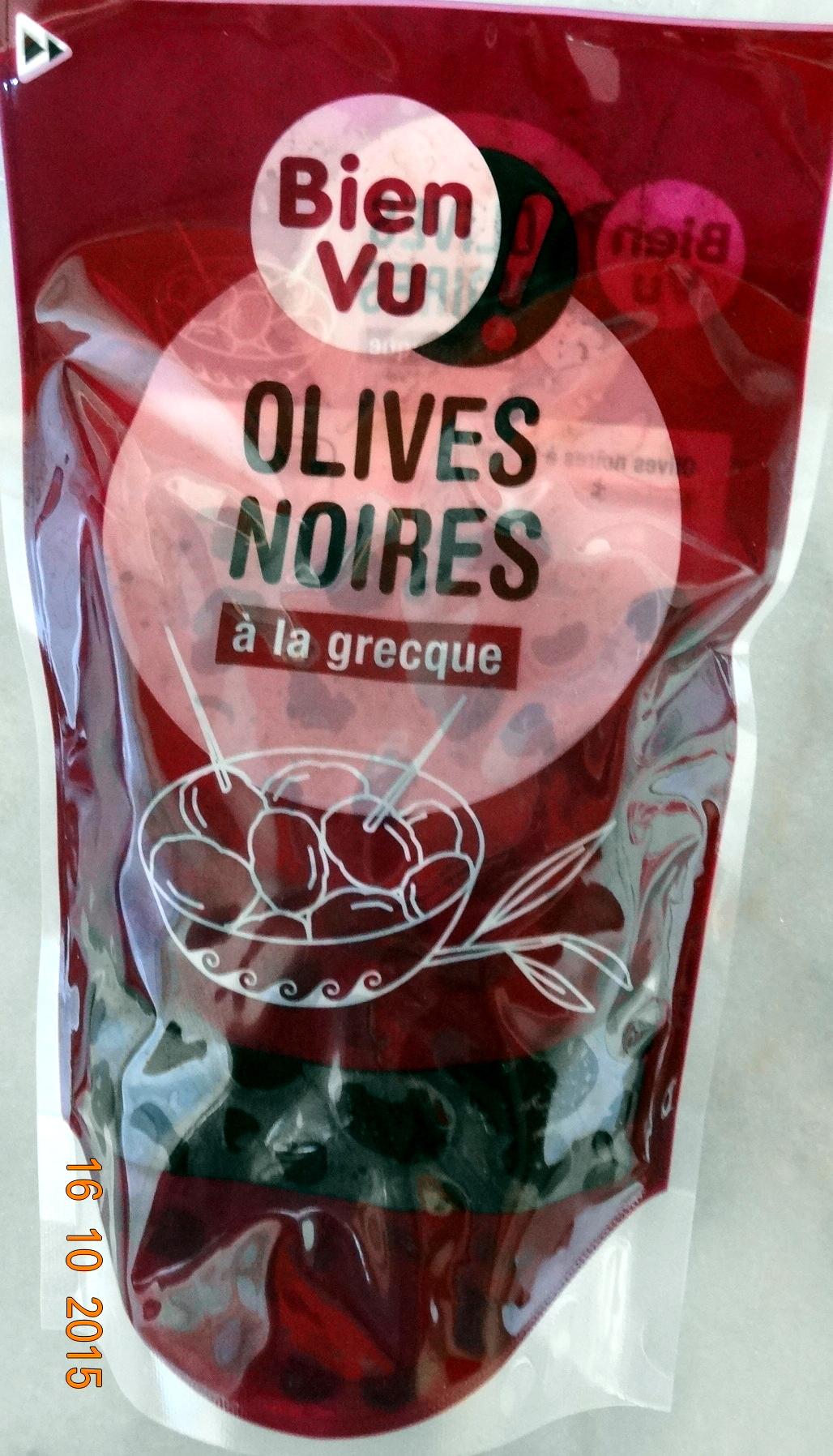 Olives Noires à la Grecque - Produit - fr