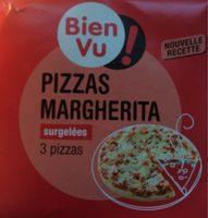 Pizzas Margherita Surgelées (x3) - Produit - fr