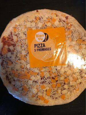 Pizza 3 fromages - Produit - fr