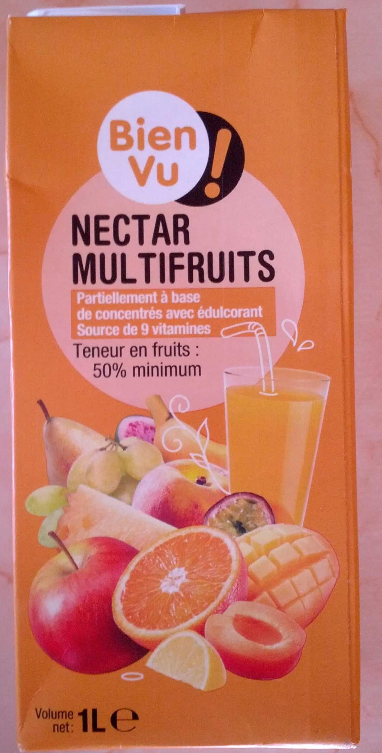 Nectar multifruits - Produit - fr
