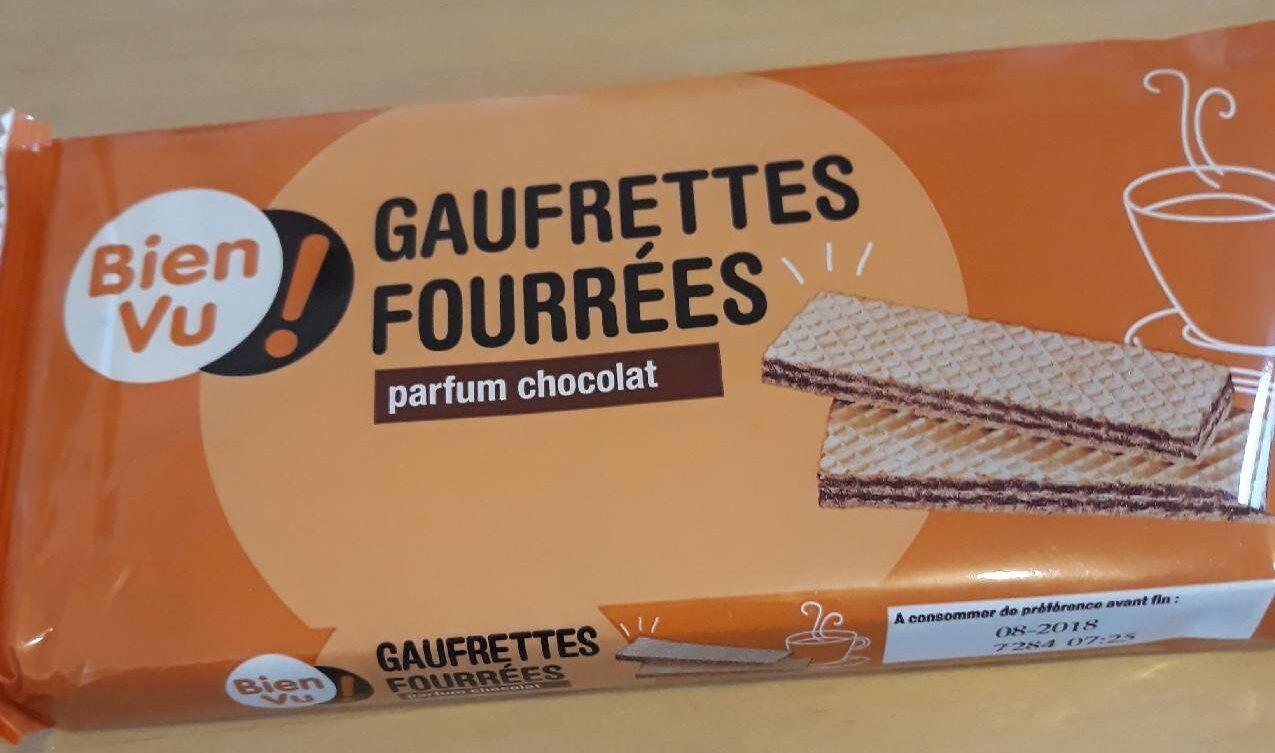 Gaufrettes fourrées au chocolat - Produit - fr