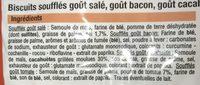Coffret de souffles aperitif assortis BIEN VU - Ingrédients - fr
