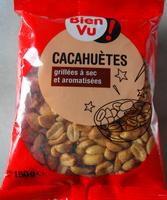 Cacahuètes grillées à sec & aromatisées - Produit - fr
