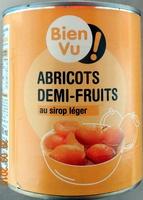 Abricots demi-fruits, au sirop léger - Produit - fr