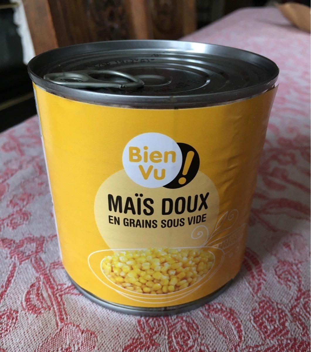 Maïs Doux Bien Vu, - Produit