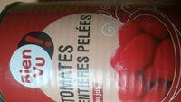 Tomates entières, pelées, au jus - Product - fr
