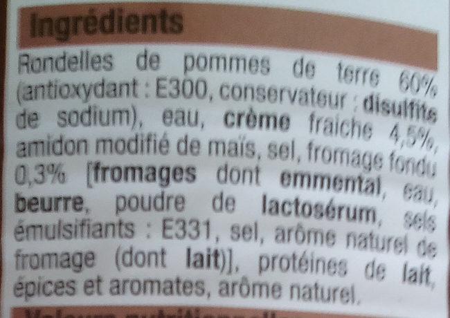 Gratin Dauphinois - Ingrediënten