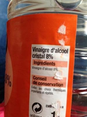 Vinaigre d 39 alcool 8 bien vu 1 litre - Vinaigre d alcool cuisine ...