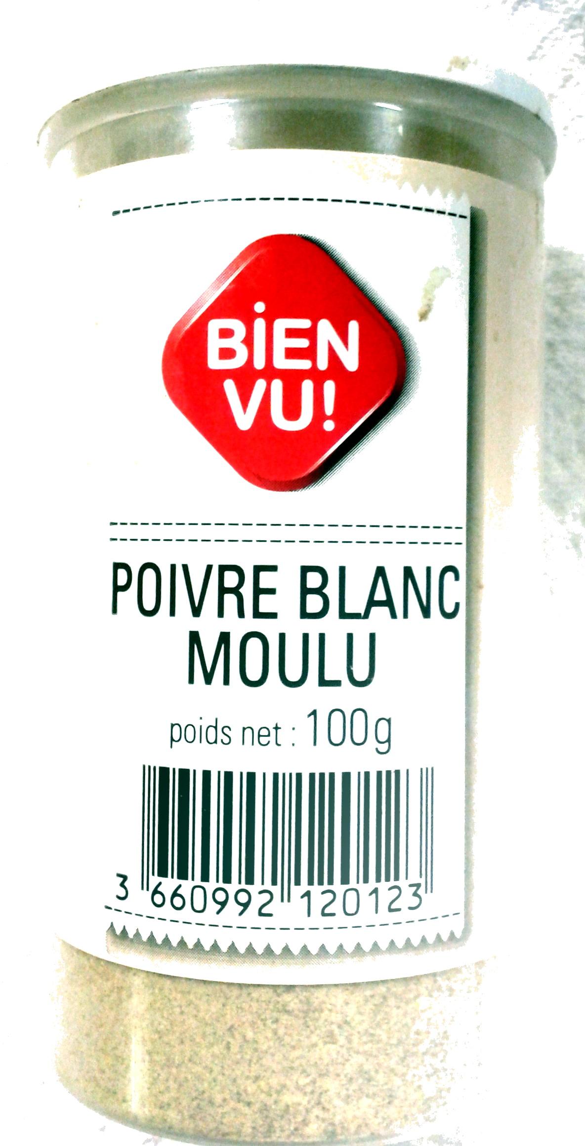 Poivre blanc moulu - Produit - fr