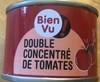 Double concentré de tomates - Product