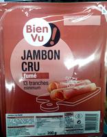 Jambon cru fumé - Produit