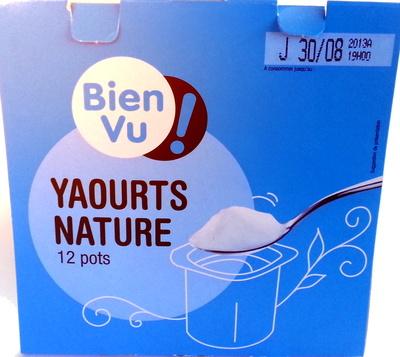 Yaourts nature - Produit