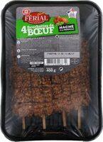 Brochettes de boeuf haché à la provençale x 5 - Product