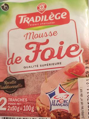 Mousse de foie supérieure - Ingrédients