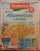 Allumettes de Jambon (2 barquettes) - Product