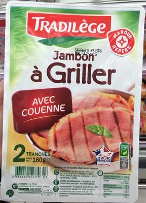 Jambon à griller 2 tranches - 1