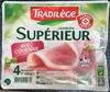 Jambon Supérieur, Avec Couenne (4 Tranches) - Product