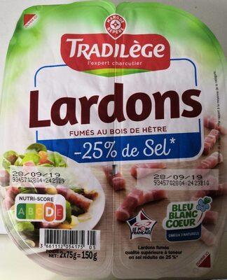 Lardons - Informations nutritionnelles - fr
