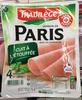 Jambon de Paris cuit à l'étouffée - Produit