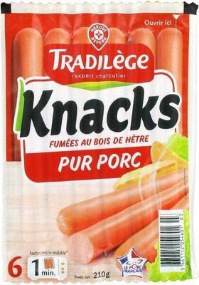 Saucisses de Strasbourg x 6 - Produit