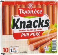Saucisses de Strasbourg x 10 - Produit - fr