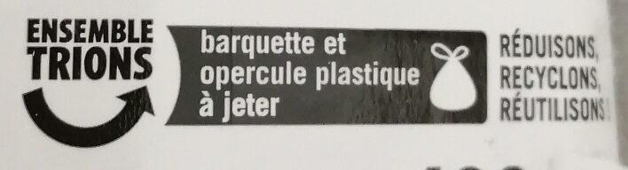 Andouillettes x 3 - Recyclinginstructies en / of verpakkingsinformatie - fr