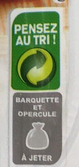 Allumettes de bacon Fumées - Recyclinginstructies en / of verpakkingsinformatie - fr