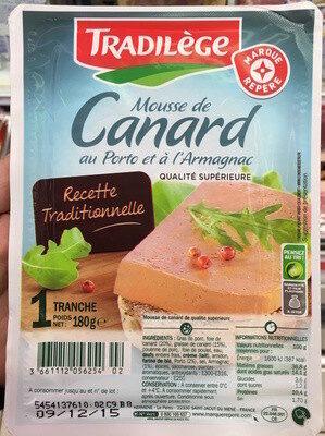 Mousse de canard - Product - fr