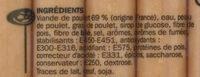Délices de volaille x 10 - Ingrédients - fr