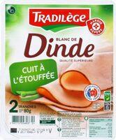 Blancs de dinde 2 tranches - Produit - fr