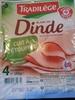 Blanc de Dinde Cuit à l'Étouffée (4 Tranches) - Product
