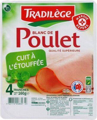 Blancs de poulet 4 tranches - Produit - fr