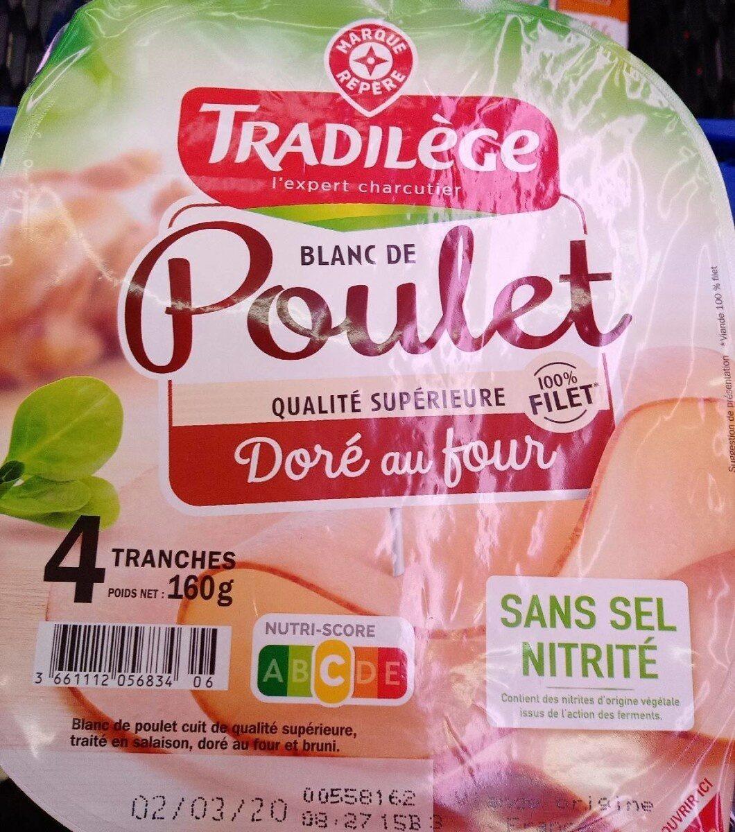 Blancs de poulet 4 tranches - Prodotto - fr