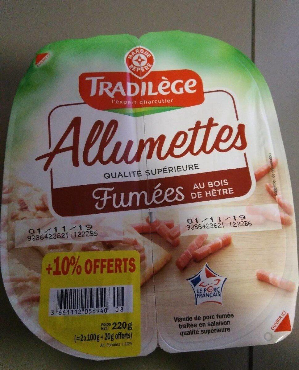 Allumettes de lardons Tradilège Fumés - Product