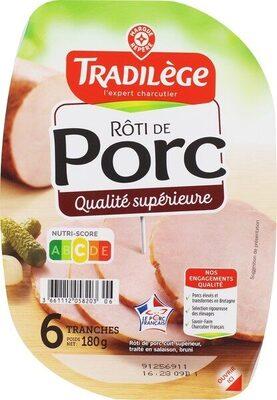 Rôti de porc x 6 - Produit