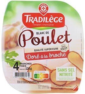 Blanc de poulet Doré à la broche - Producto - fr