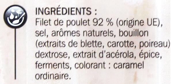 Blanc de poulet Doré à la broche - Ingredientes - fr