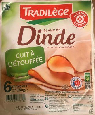 Blanc de Dinde (6 Fines Tranches) - Producto