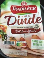 Blanc de dinde Doré au four - Produit - fr